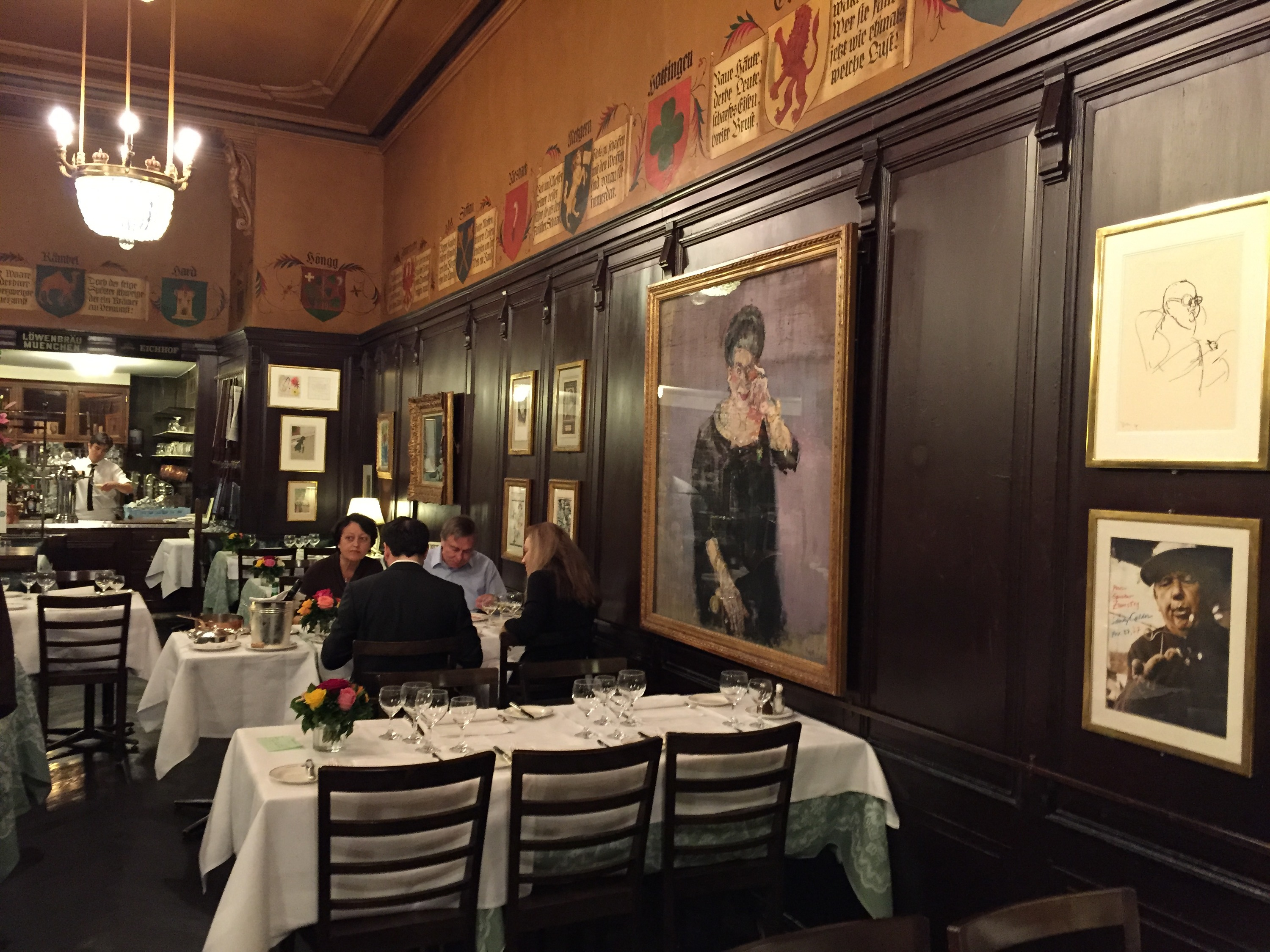 Best Dinner Restaurants Zurich