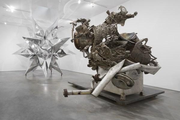 Frank Stella Sculpture