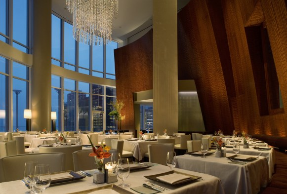 Image result for fine dining chicago sixteen