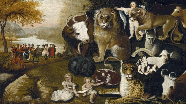 Edward Hicks Peaceable Kingdom