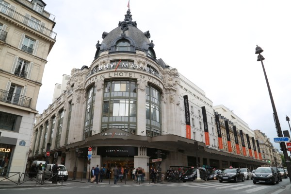 Le Bhv Marais Department Store Shopping In Paris