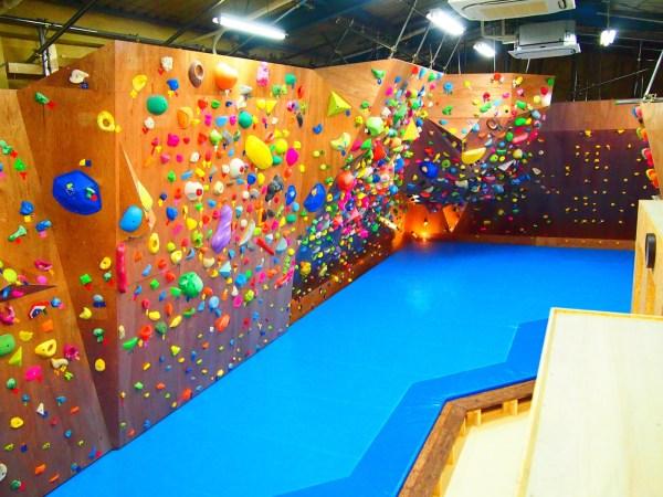 Bouldering Rock Climbing Gym