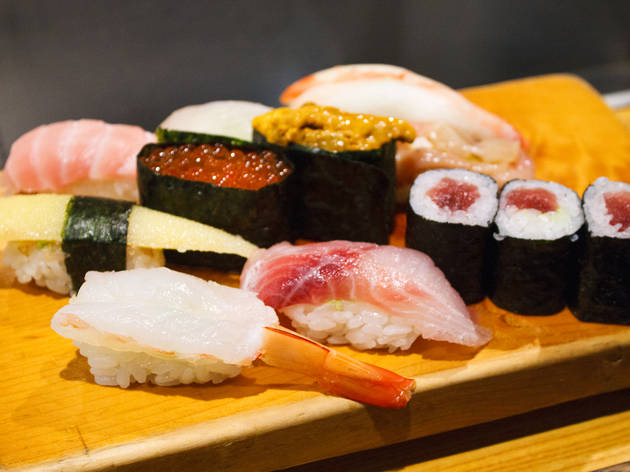 Take Out Sushi Places