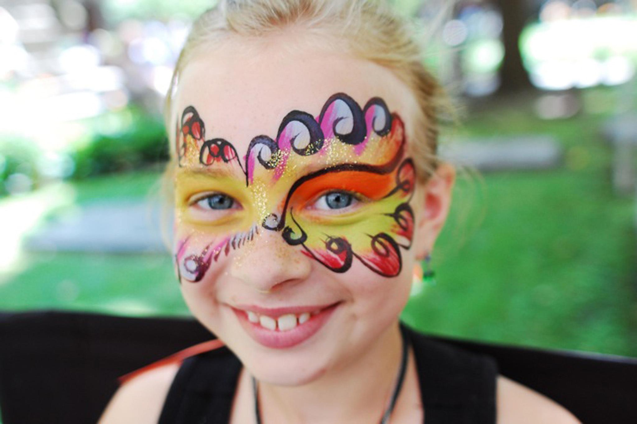 Face Painting Birthday Parties Nj