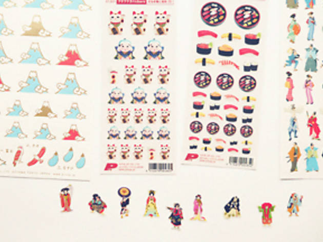 japanese stickers with frise orientale stickers
