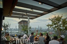 Outdoor Rooftop Restaurant NYC