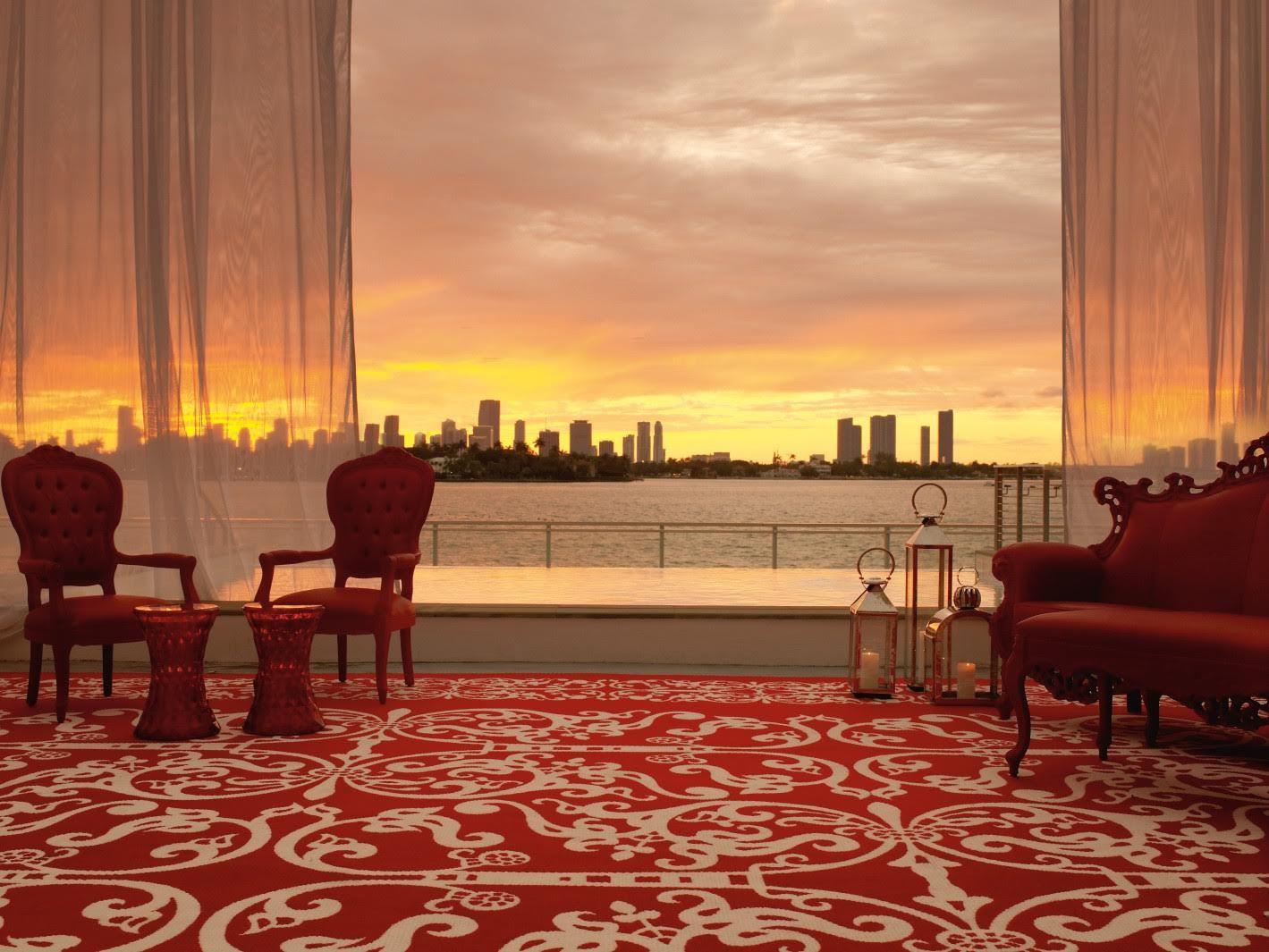 Mondrian South Beach  Hotels in South Beach Miami
