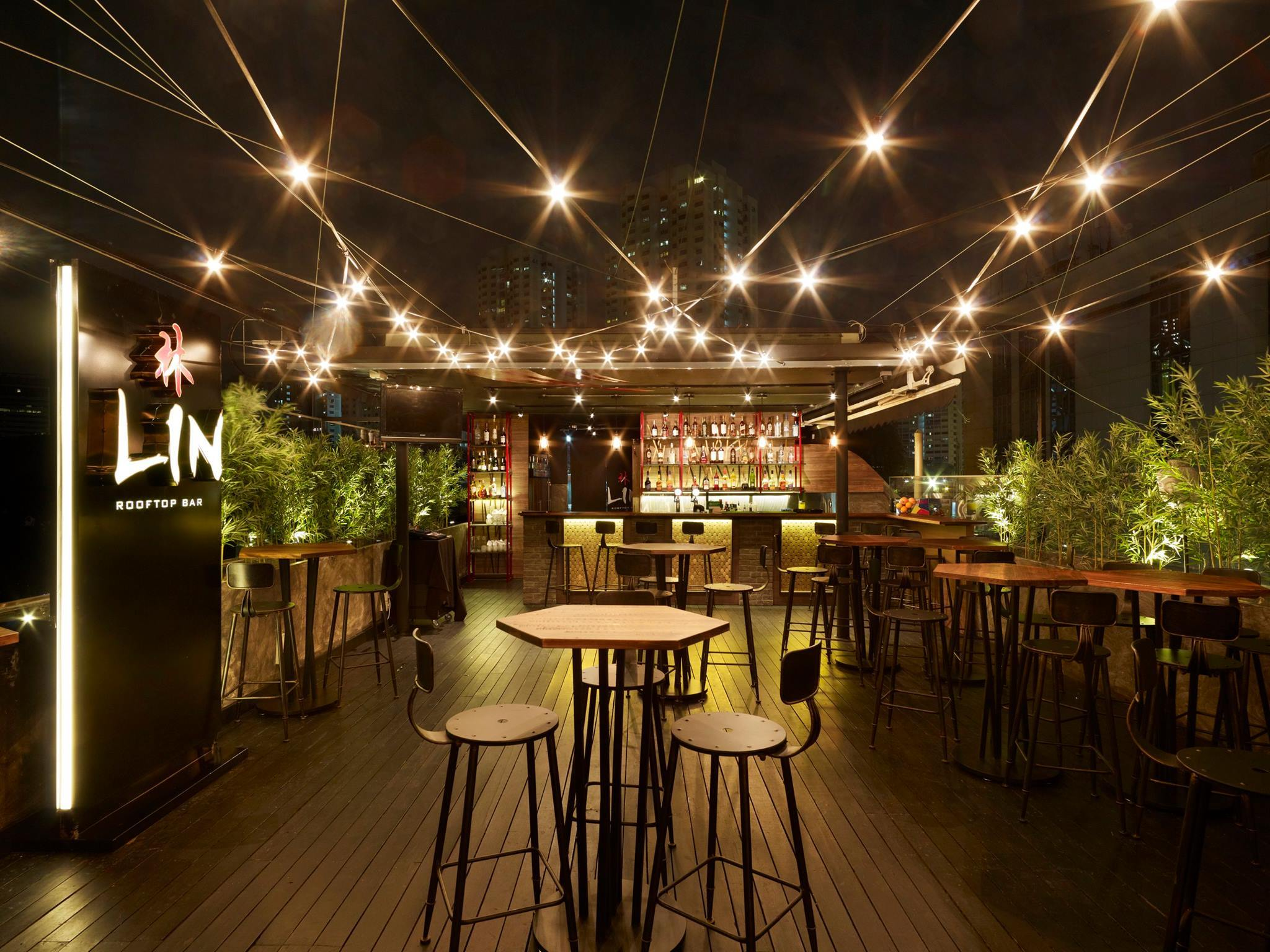 Lin Rooftop Bar  Restaurants in Tiong Bahru Singapore