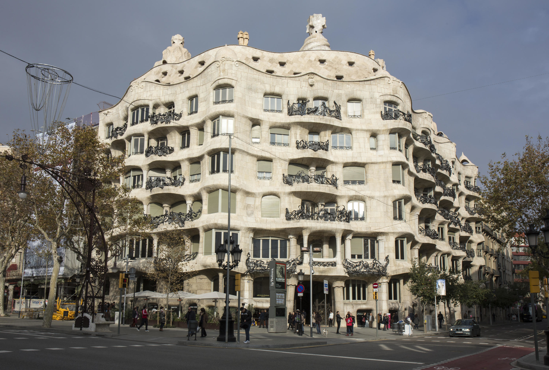 La Pedrera  Attractions in Dreta de lEixample Barcelona