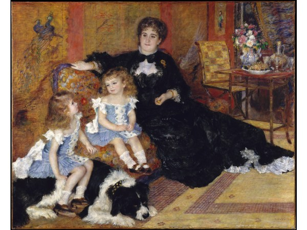 Renoir Madame Charpentier and Her Children