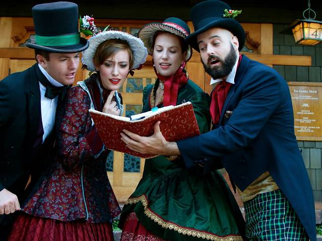 Victorian Christmas Carollers