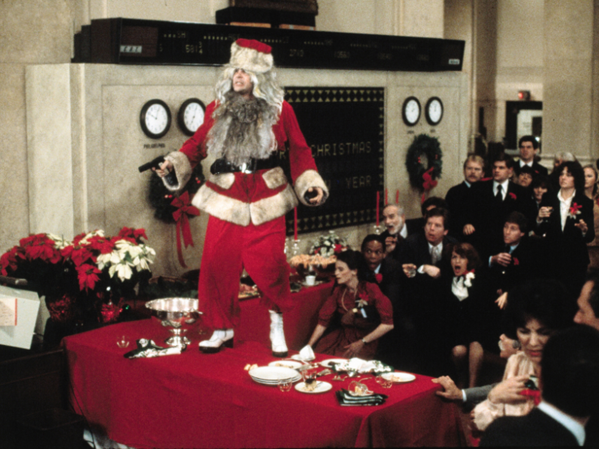 Films Not To Watch When Working As Santa Claus