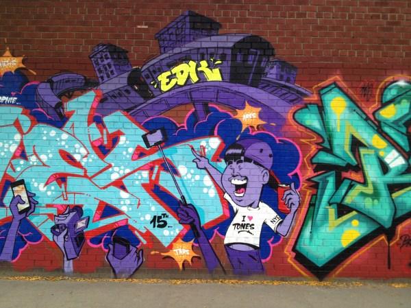 Graffiti In Nyc Street Art Murals Bubble Tags