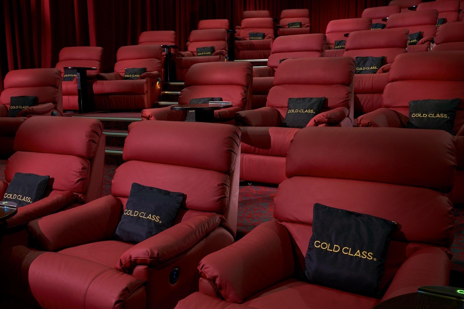 Golden Village GV Gold Class  Film in Singapore