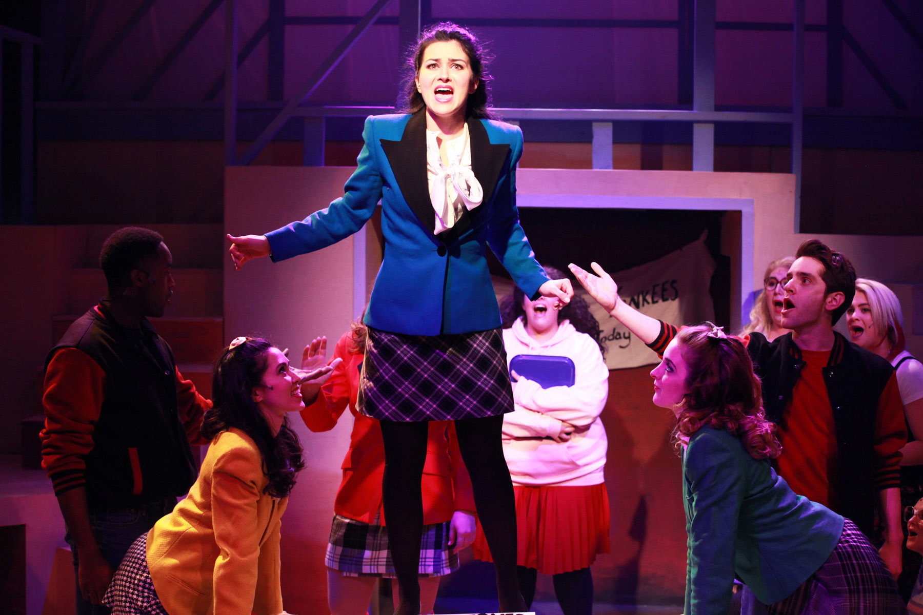 Mean Girls Musical Wallpaper Heathers The Musical Theater In Chicago