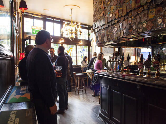 Image result for Interior of packed pubs images
