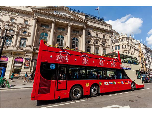Original London Sightseeing Tour   Things to do in Trafalgar Square. London
