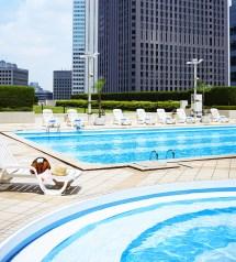 Sky Pool Keio Plaza Hotel In Tokyo