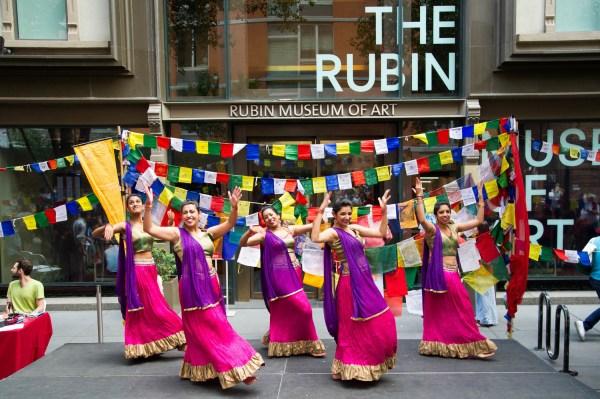 Rubin Museum Of Art Block Party In York