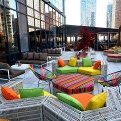 Black And White Striped Chairs Chair Seat Covers Argos 15 Best Rooftop Restaurants In Nyc To Try Mile-high Meals