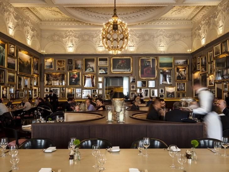 london's most stunning restaurants, berners tavern