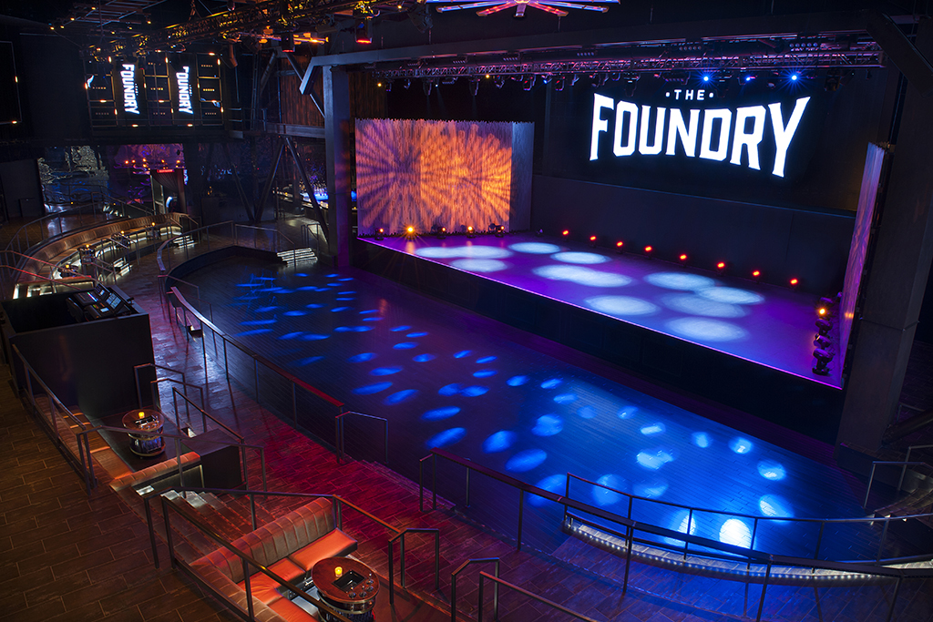 the foundry music in the strip las vegas