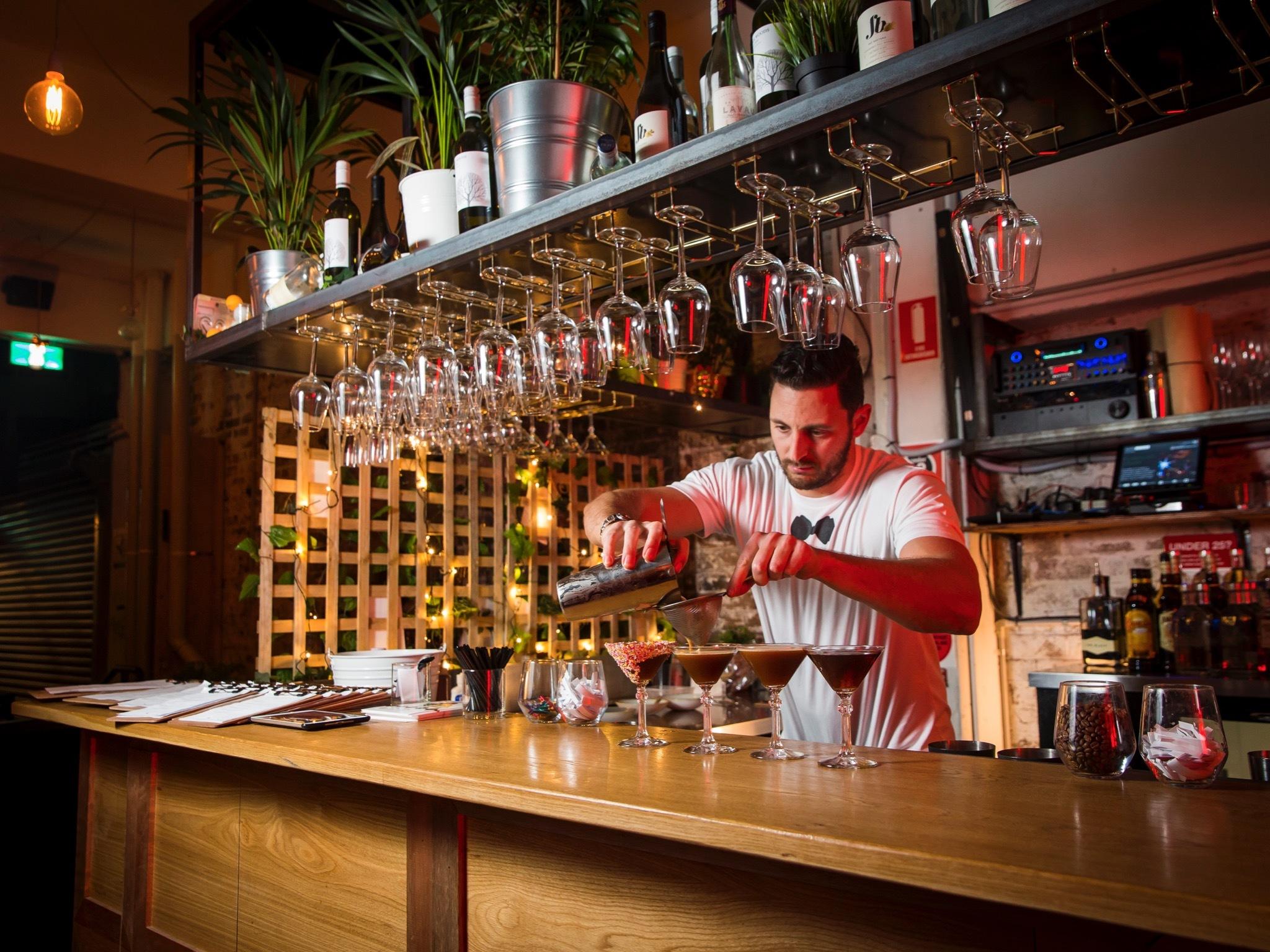 Tuxedo  Bars in The Rocks Sydney