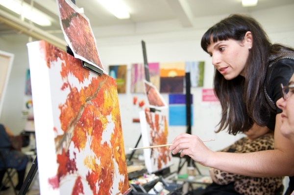 Art and Wine Painting Classes