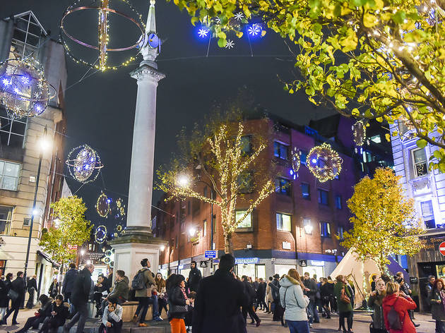 Seven Dials Christmas Lights