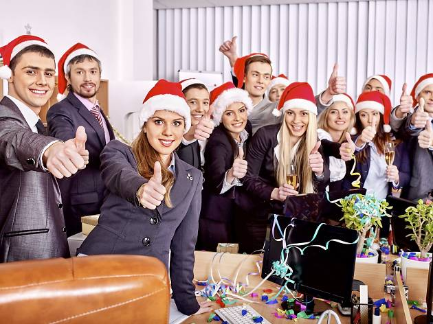 eight alternative christmas parties