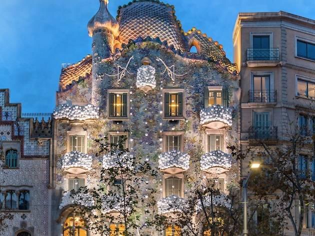 Casa Batll  Attractions in Dreta de lEixample Barcelona