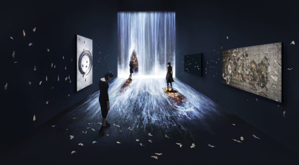 Teamlab Immersive Installations - Art In London Time