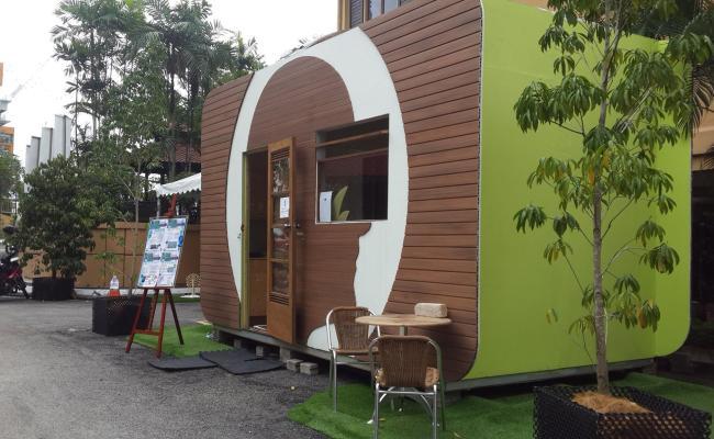 Greenman Tiny Home Malaysia S First Sustainable Zero