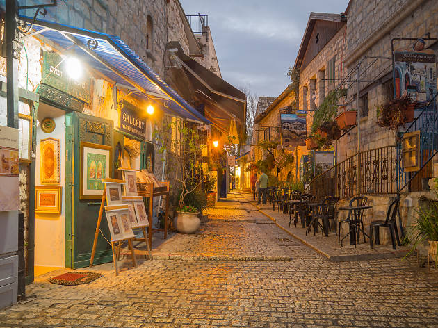 Old City of Tzfat  Attractions in Safed Safed