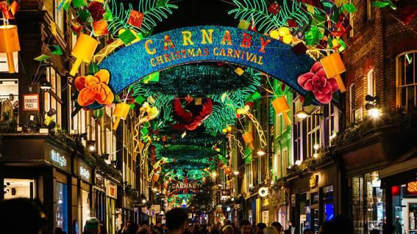 christmas lights london 2019 # 34