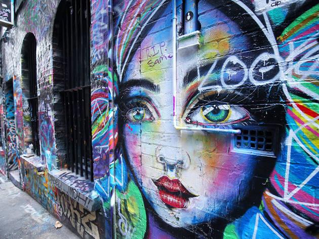 Wallpaper Cute Little Girl Cartoon Best Street Art In Melbourne Where To Find The Best
