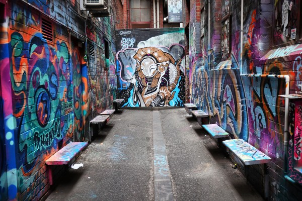 Street Art In Melbourne - Find