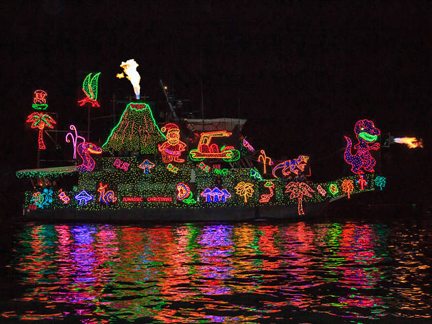 Newport Beach Christmas Boat Parade Various Locations In