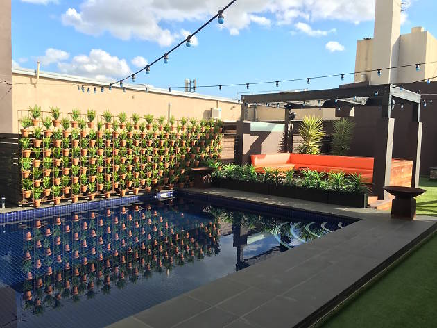 The Pool Deck At Rydges On Swanston Hotels In Carlton