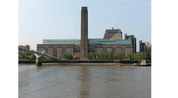 Tate Modern Art In South Bank London