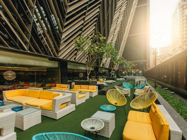 living room theater drink menu layout with tv in corner 15 best rooftop bars singapore and pubs cocktail