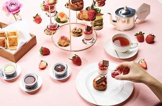 Ichigo Love Strawberry Afternoon Tea   Restaurants in Tokyo
