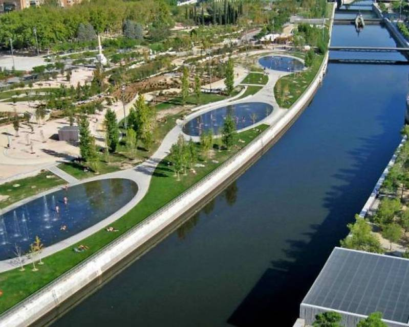 Resultado de imagen de madrid rio