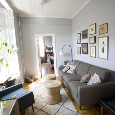 Apartment Tour 1br In Williamsburg  House & Home
