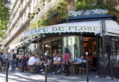 Cafe De Flore Paris Saint Germain Des Pres Restaurant