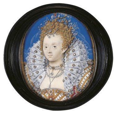 'Elizabeth I', c1595-1600