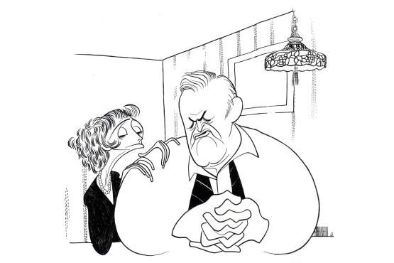 """""""The Line King's Library: Al Hirschfeld at the New York"""