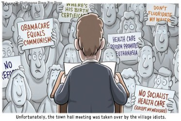 The Town Hall Meeting Chattanooga Times Free Press