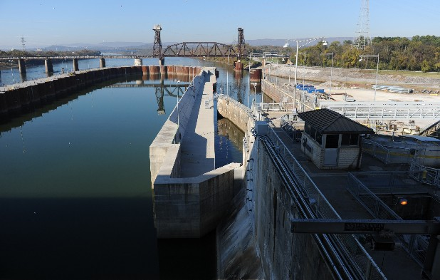 Because of structural safety concerns, the existing lock at Chickamauga Dam, completed in 1940, must be replaced.