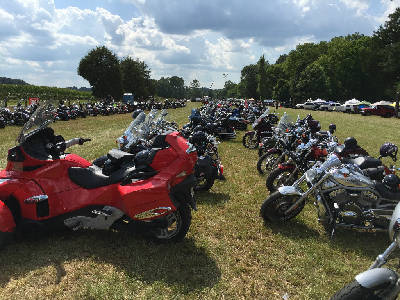 Cave Spring Motorcycle Rally Revs Up